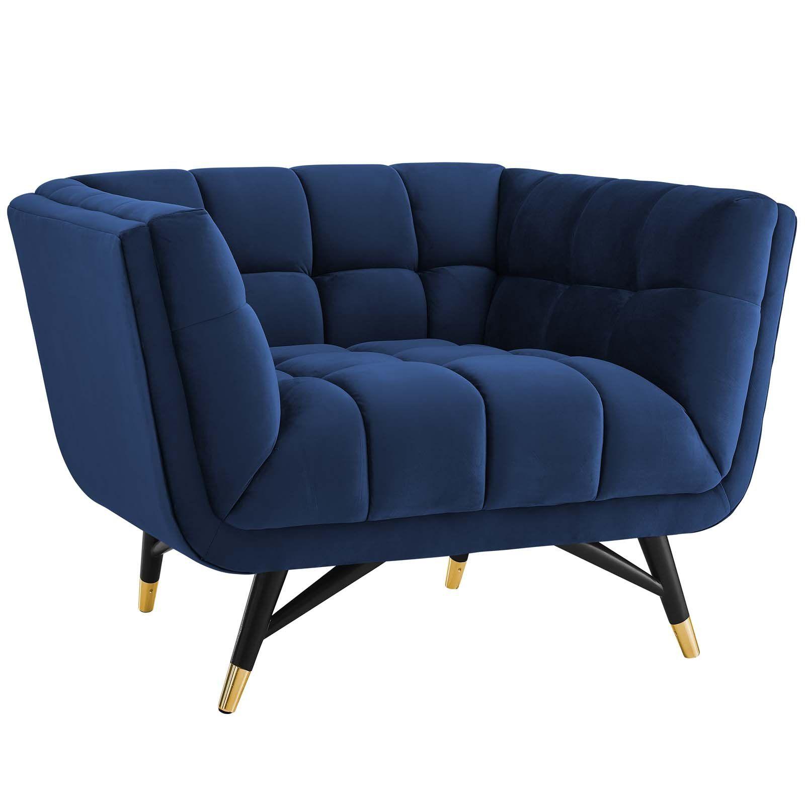 Best Pin By Valerie Eden On True Blue Velvet Lounge Chair 400 x 300