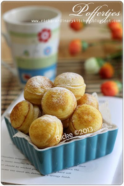 Just My Ordinary Kitchen Poffertjes Dutch Mini Pancake Puffs Kue Lezat Makanan Makanan Dan Minuman