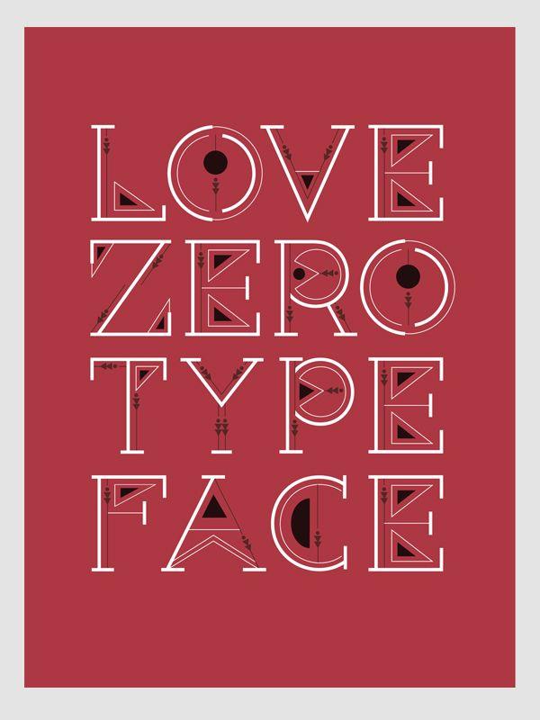 BenChalit Sagiamsak - zero typeface