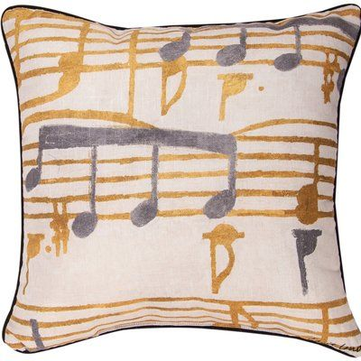 Manual Woodworkers & Weavers Music Stanzas I Throw Pillow