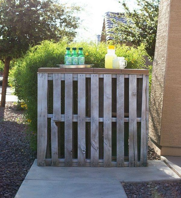 bar counter itself build garden party drinks | RUSTIC | Pinterest ...