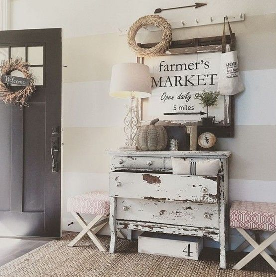 43 Beautiful Rustic Entryway Decoration Ideas: The #1 Tip For Creating A