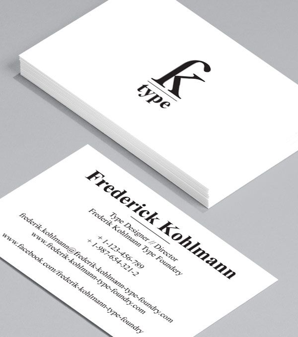Business Card designs - Love letters