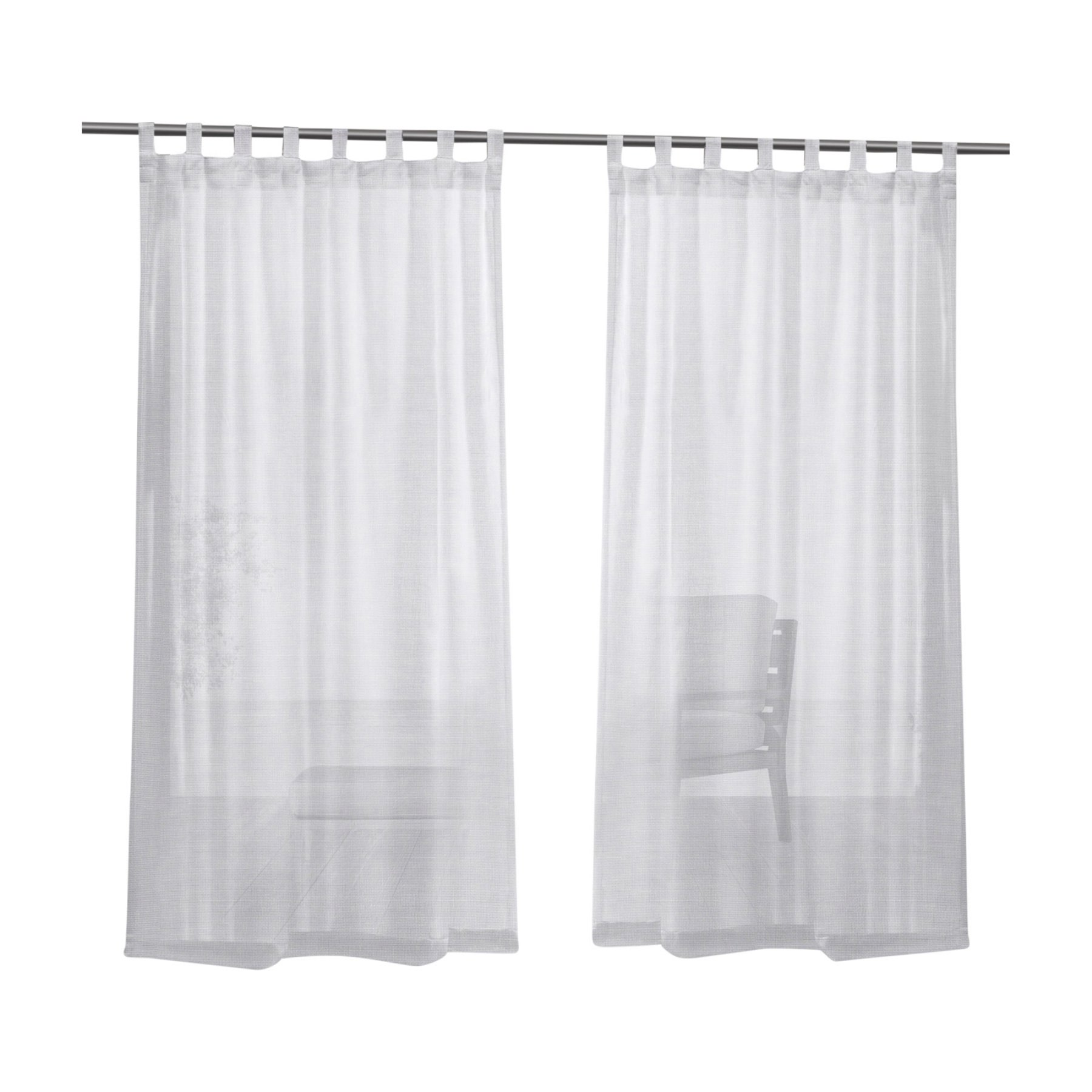 Exclusive Home Miami Tab Top Outdoor Curtain Panel Pair Panel Curtains Exclusive Homes Outdoor Curtains