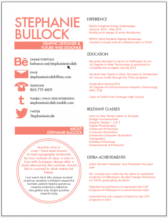 30 excellent resume designs for inspiration - How To Design A Resume