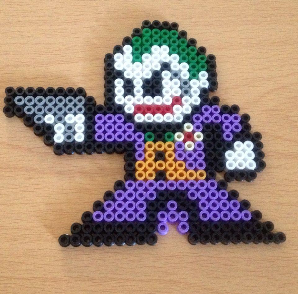 The Joker For Luke Pixel Art Hama Beads Design Hama