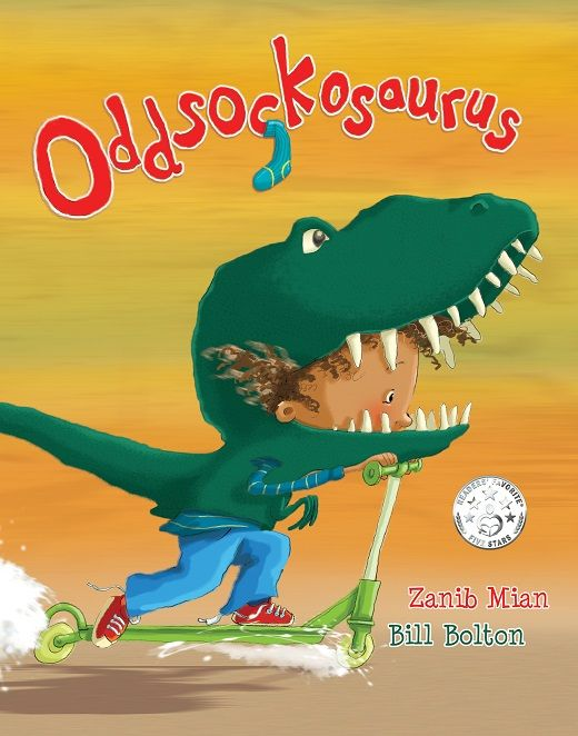Bill Bolton recreates this much-loved picture book character as YOUR CHILD! That's the coolest Christmas present you could give a lucky kid this year! Enter to win:https://gleam.io/lFsFk/win-a-moneycantbuy-gift-for-a-child-the-illustrator-of-oddsockosaurus-draws-your-child-as-the-character-from-the-muchloved-picture-book