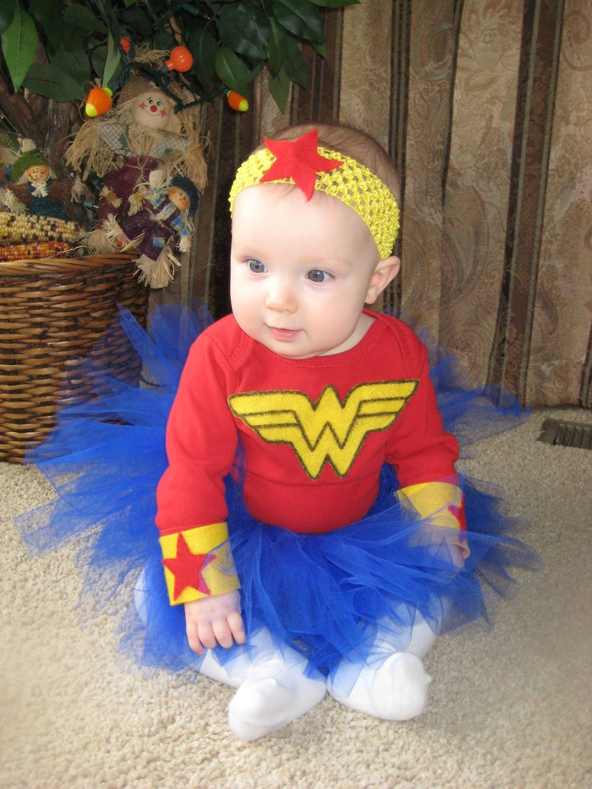 diy halloween costumes for kids and toddlers wonder woman wwwsweetlittleonesblogcom - Toddler And Baby Halloween Costume Ideas