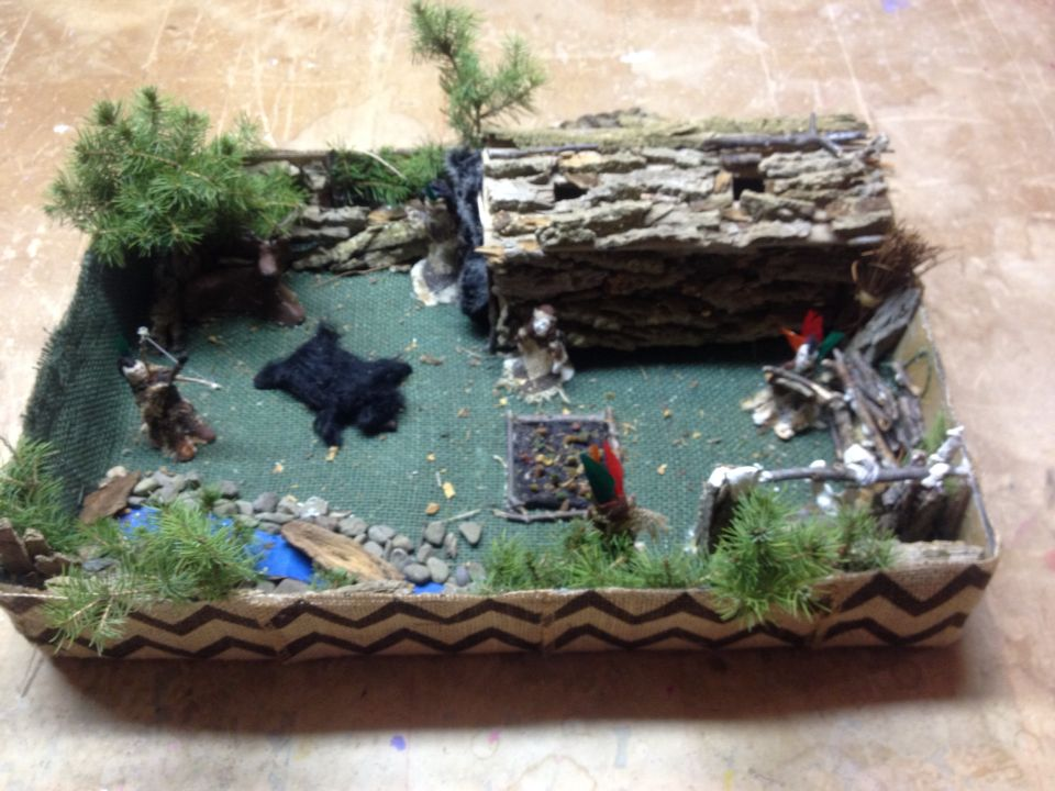 Iroquois Longhouse Project Ideas Likes Pinterest Iroquois