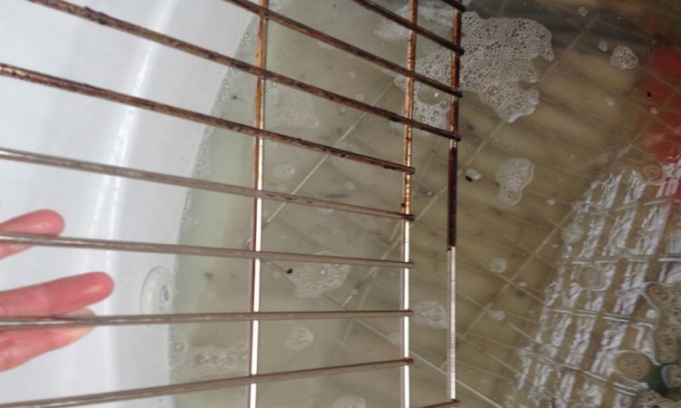la meilleure fa on de nettoyer les grilles du four facilement nettoyage pinterest. Black Bedroom Furniture Sets. Home Design Ideas