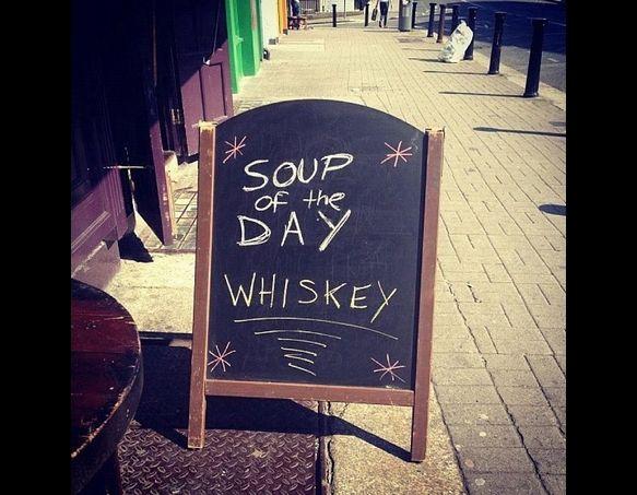 Mmmm...Irish soup just like dear ol dad used to make.