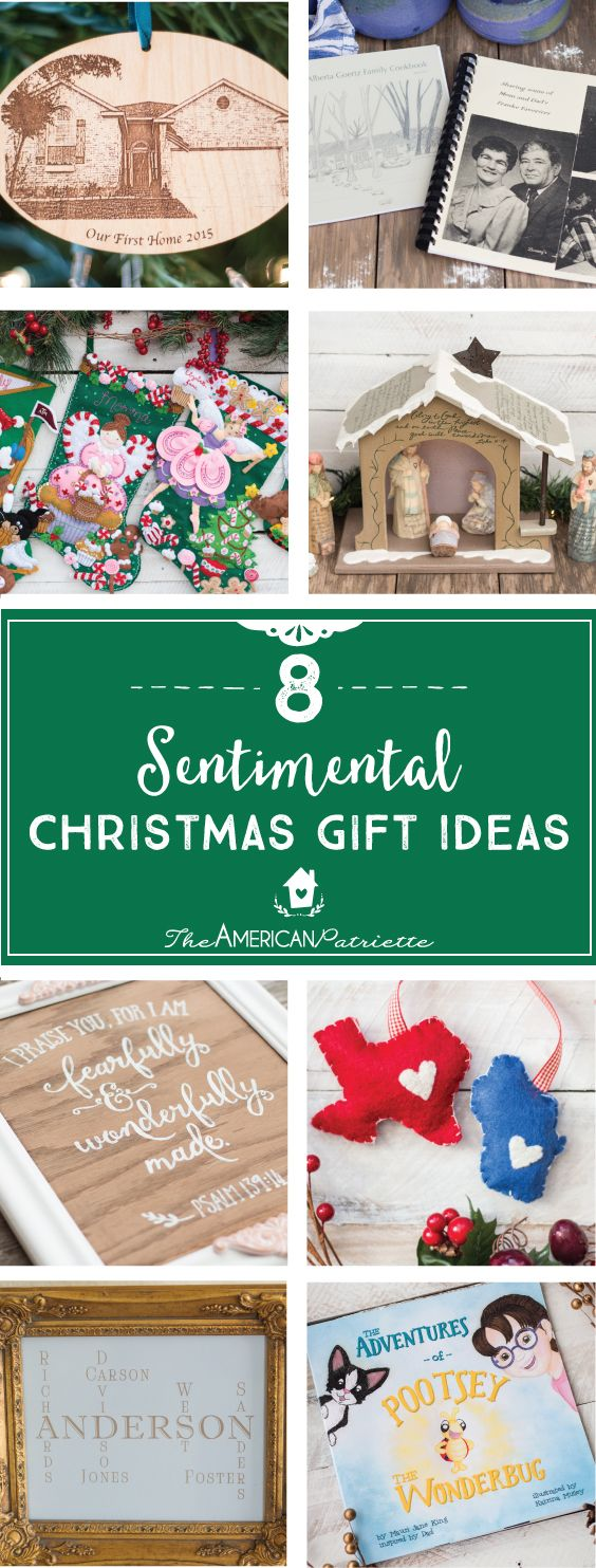 Eight Sentimental Christmas Gift Ideas | DIY Home Decor and Craft ...