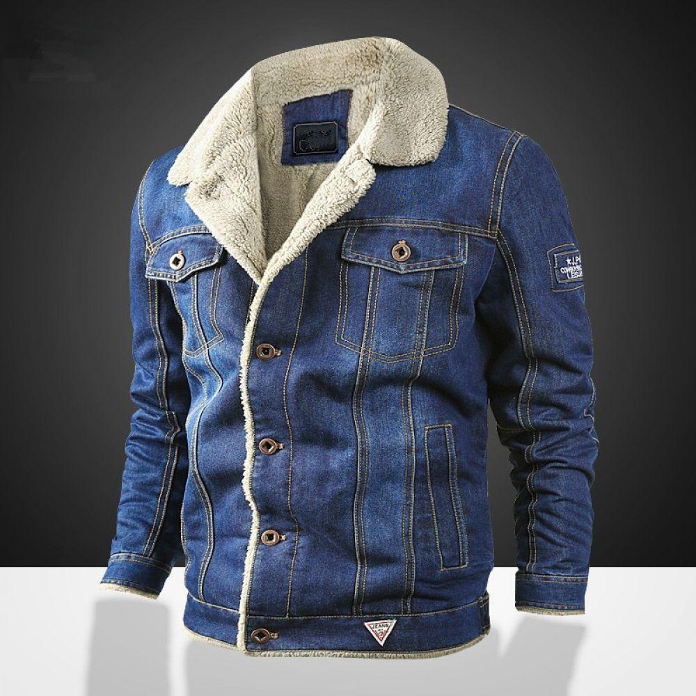 Men S Winter Denim Jacket Withl Fur Collar Price 63 68 Free Shipping Hashtag4 Denim Jacket Winter Winter Jacket Men Denim Jacket Fashion [ 1000 x 1000 Pixel ]