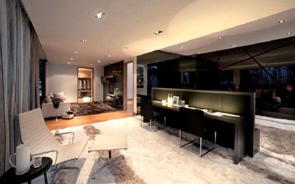 Modern luxury interior design singapore residential property verdana