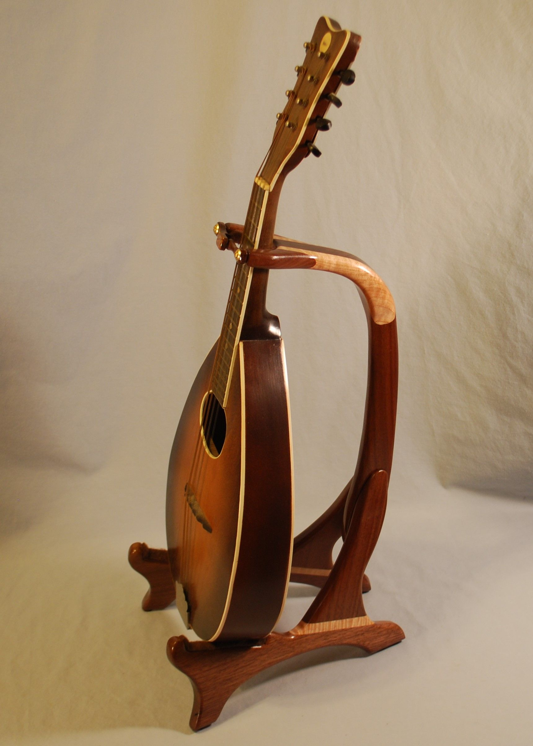 Wooden Banjo Stand