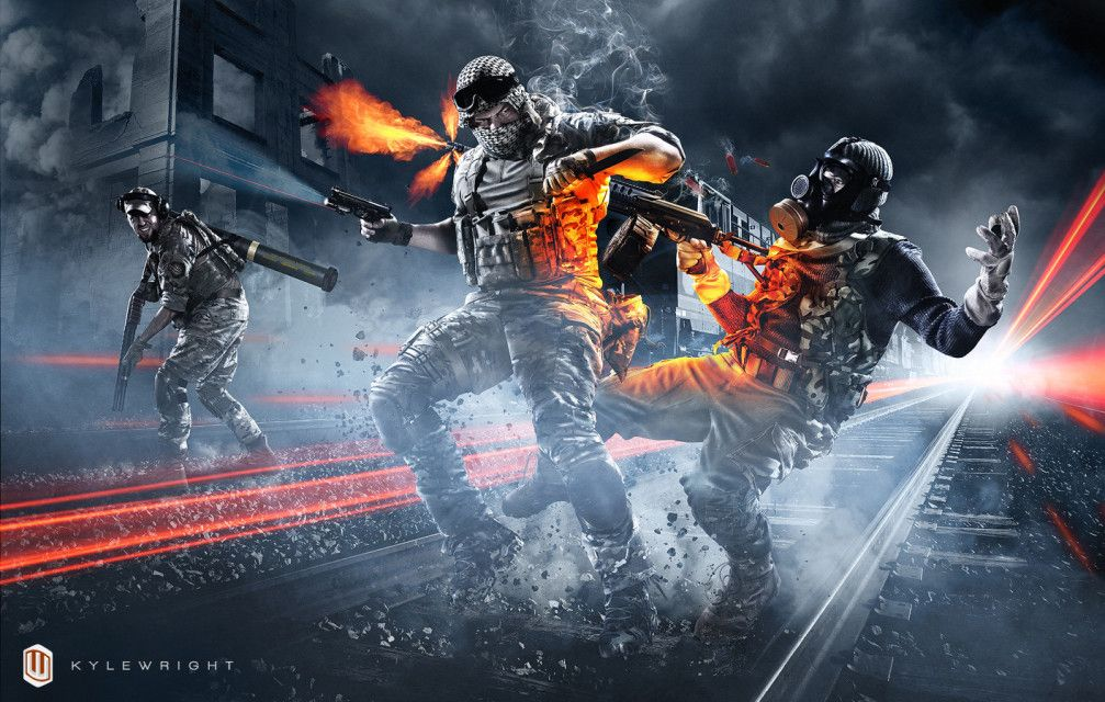 Battlefield 4 Games Wallpaper Hd: Battlefield 4 Playstation 3 & 4 Epic Wallpaper 2013