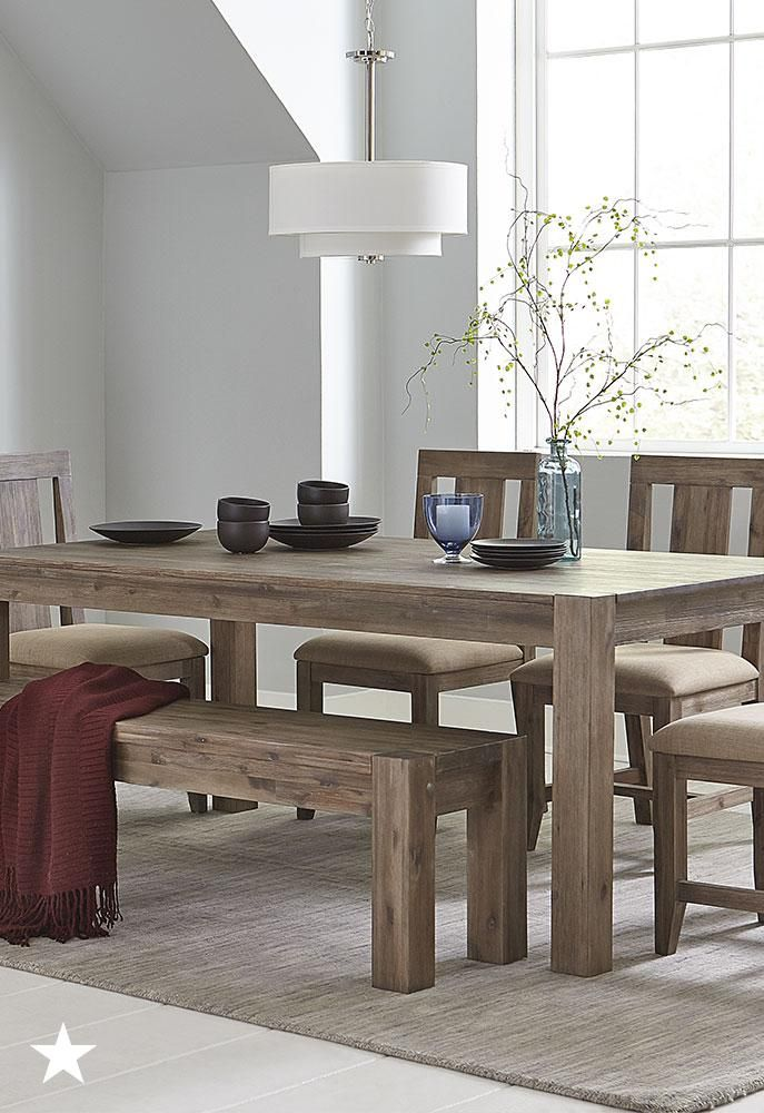 Furniture Canyon Dining Furniture Collection Created For Macy S Reviews Furniture Macy S Dining Room Table Set Dining Room Contemporary Dining Furniture