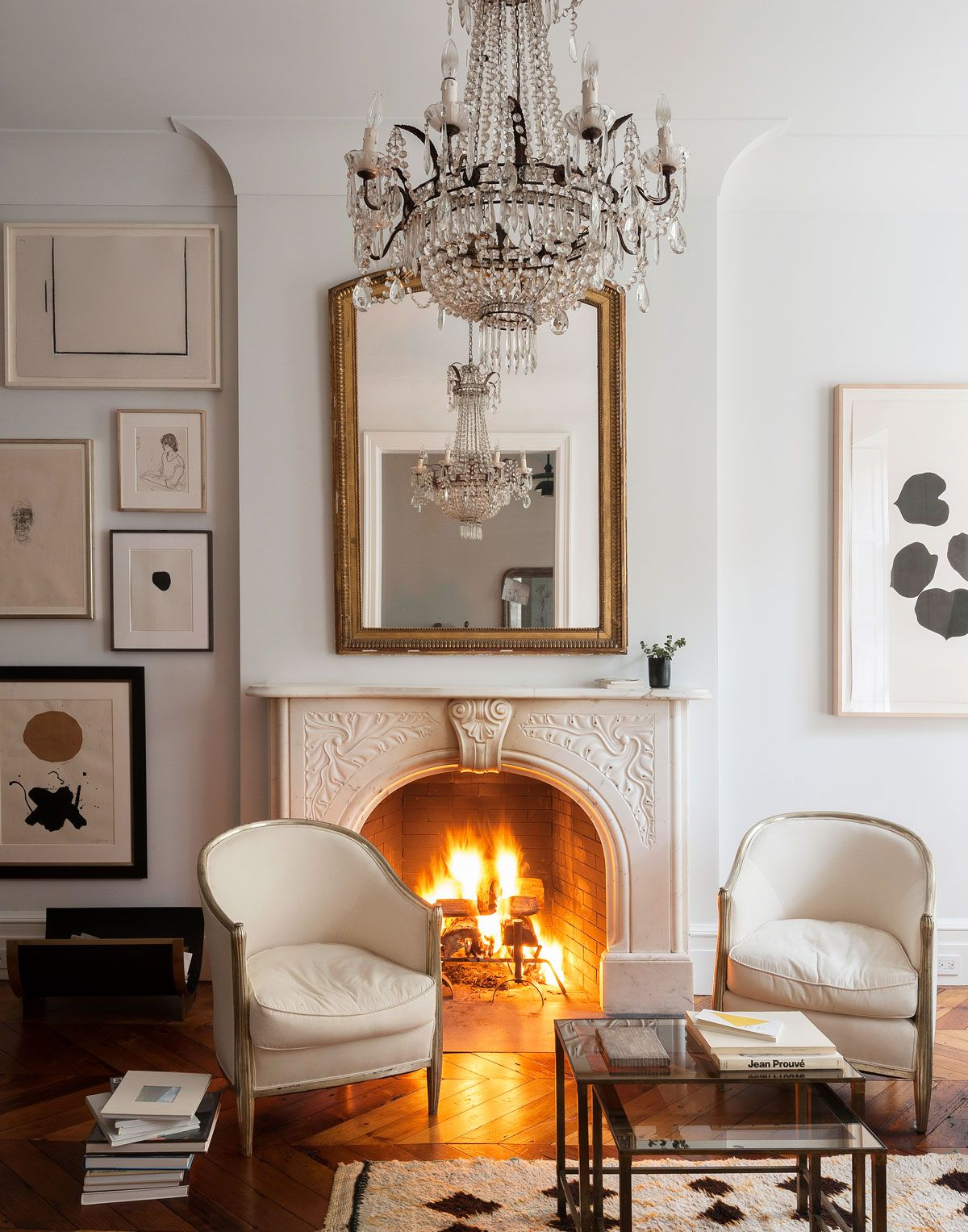 This historic New York brownstone has been brought into the 21st century with a bang