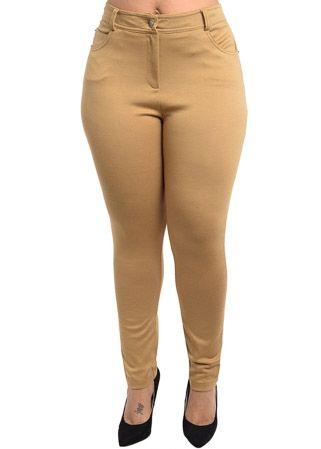piniful.com plus size khaki pants (01) #plussizefashion | Plus ...