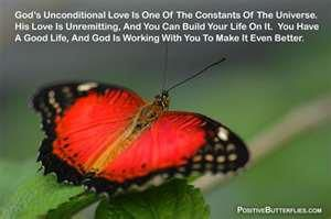 I have just found this picture of a beautiful butterfly, part of my Great God's Creation. I pray that the words which I found accompanying it may be a great blessing to all who read them and meditate on them.