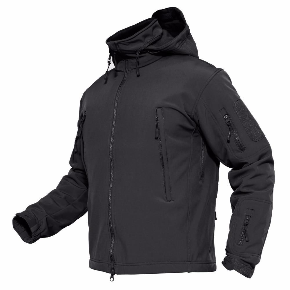 Magcomsen Jackets Men Winter Softshell Fleece Tactical Jackets Us Army Military Style Hooded Coats Waterproof Windbreaker Parka Ycadl 3 Tactical Jacket Winter Jacket Men Windproof Jacket [ 1000 x 1000 Pixel ]