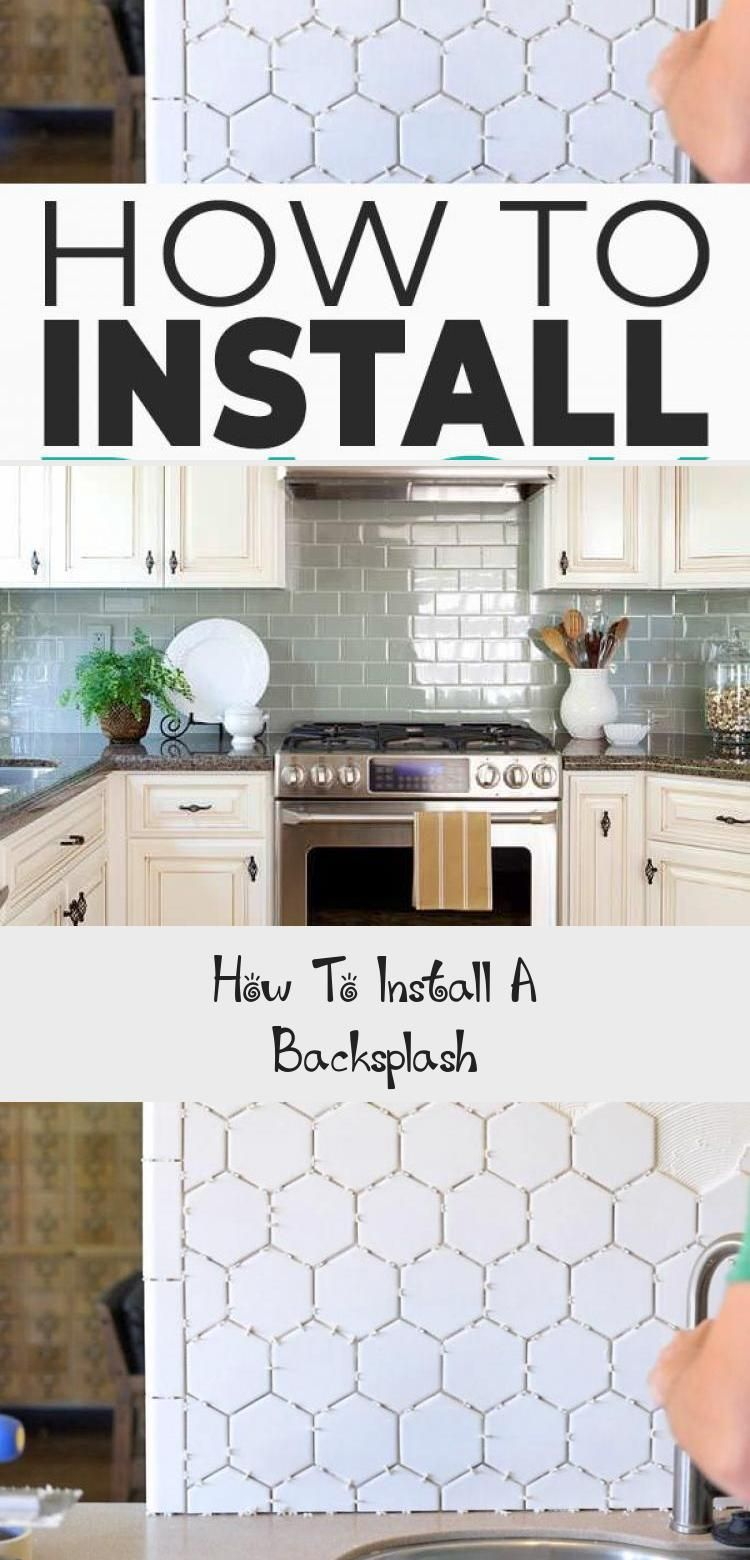 - How To Install A Backsplash! - See How Easy It Is To Update Or