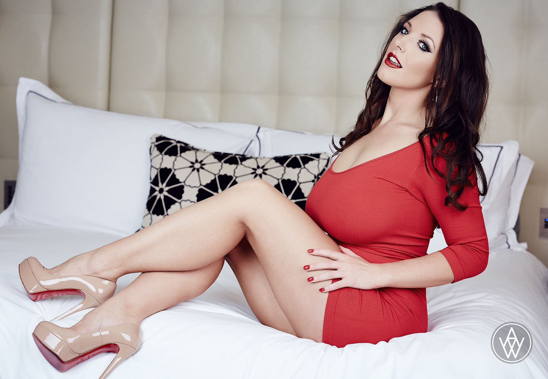 """Angela White Wallpaper pin on angela white 5'3"""" and 32 is downright gorgeous!"""