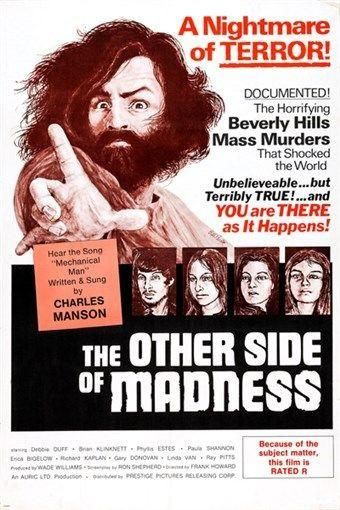 THE OTHER SIDE OF MADNESS movie poster CHARLES MANSON murder