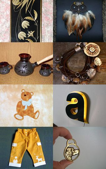 Golden Years by Carina on Etsy--Pinned with TreasuryPin.com
