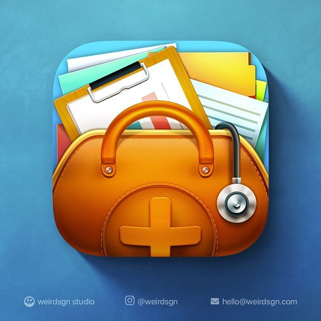 iOS Physician Purse App Icon. Need cool icon for your