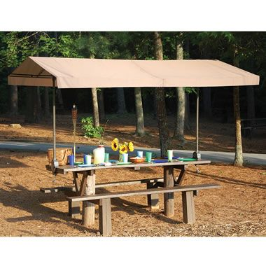 The Clamp On Picnic Table Canopy4 Picnic Table Portable Canopy Canopy