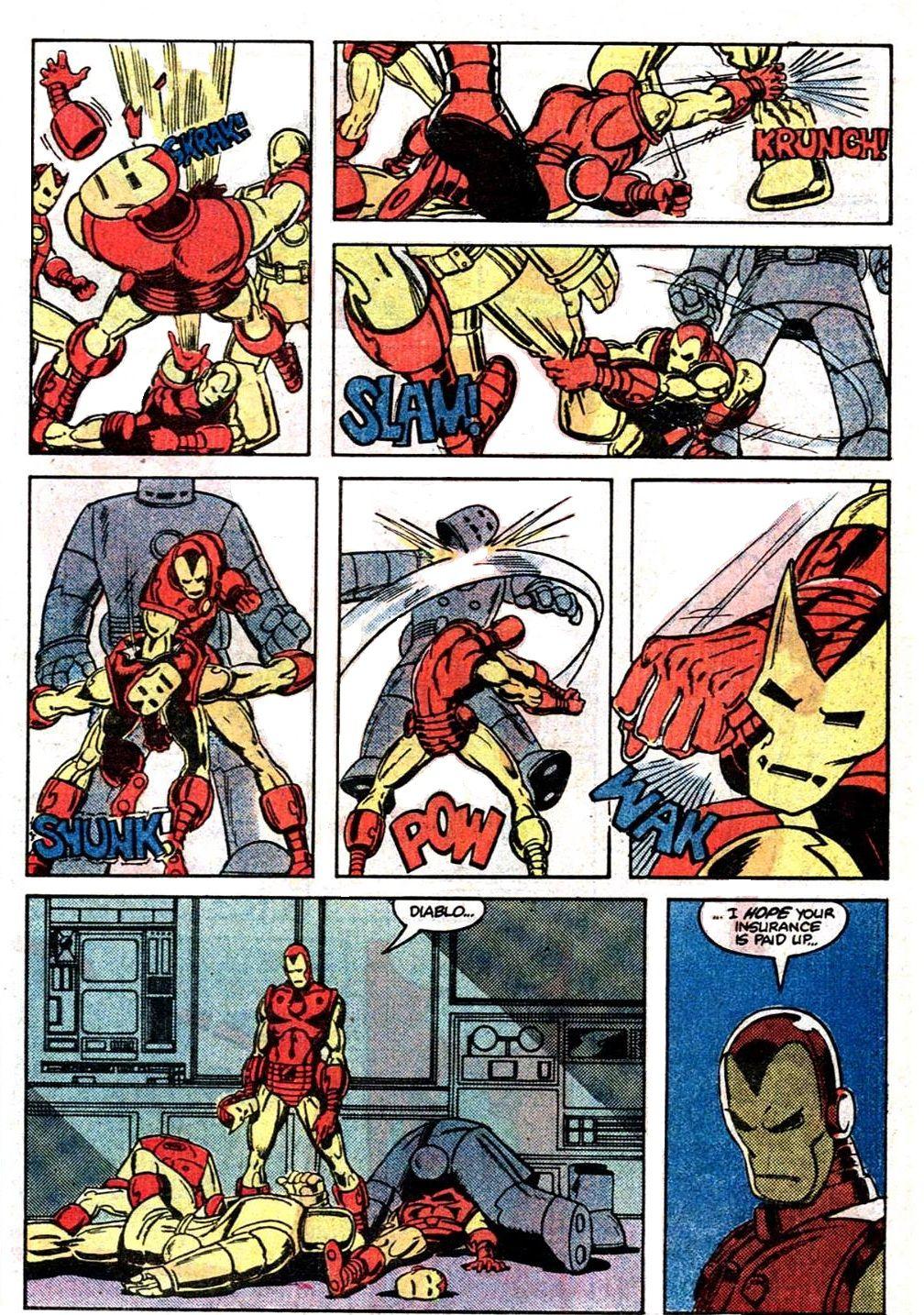 Invincible Iron Man 159 By Roger Mckenzie And Paul Smith 1982 Vintage Comics Comic Artist Comics