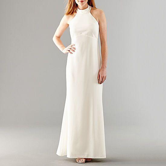 Blu Sage Sleeveless Beaded Wedding Gown