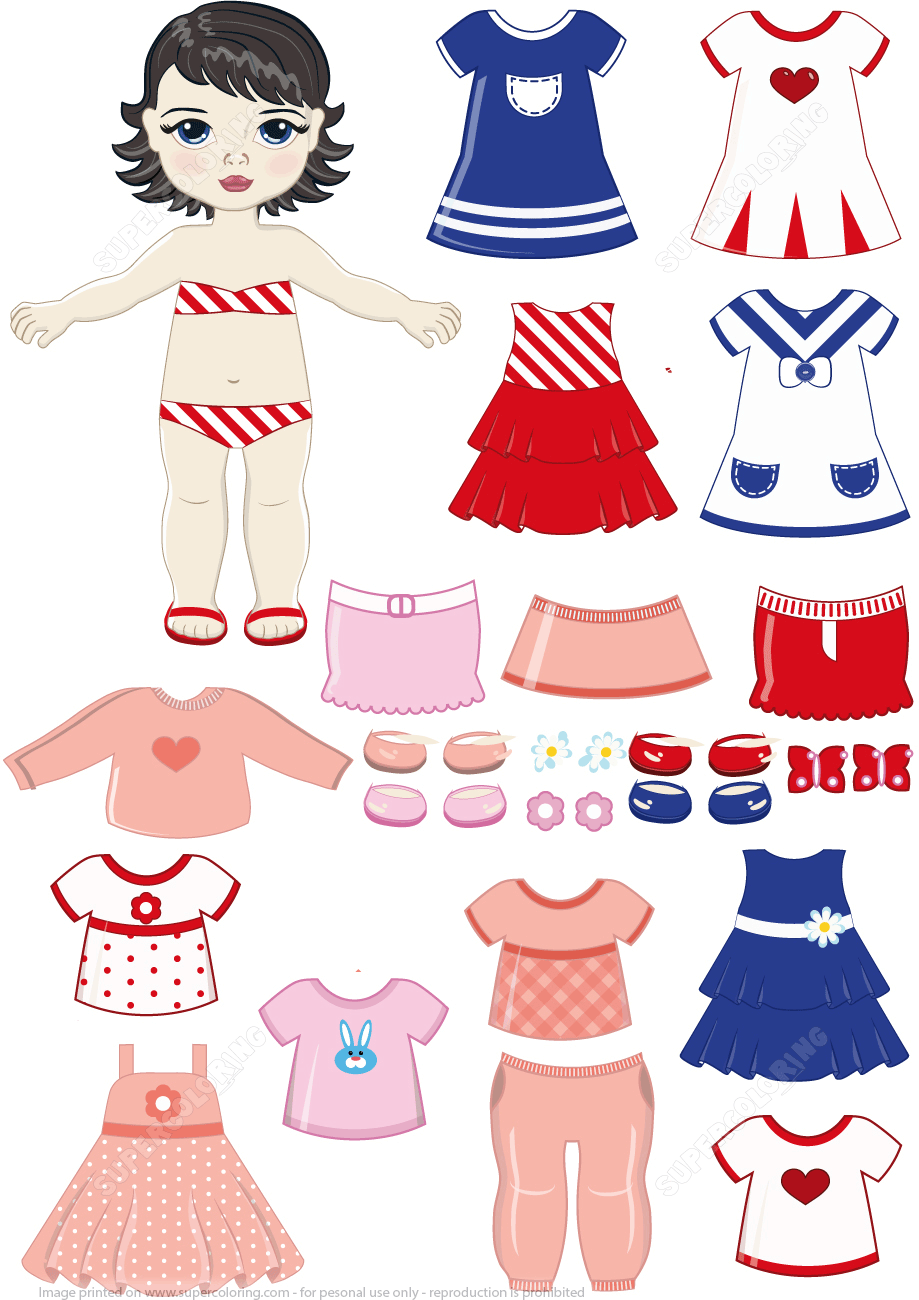 photograph regarding Printable Dress Up Paper Dolls known as Pin upon Physique pieces