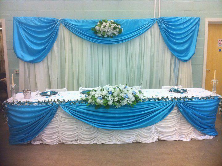 doris decoration and cakes turquoise wedding decoration