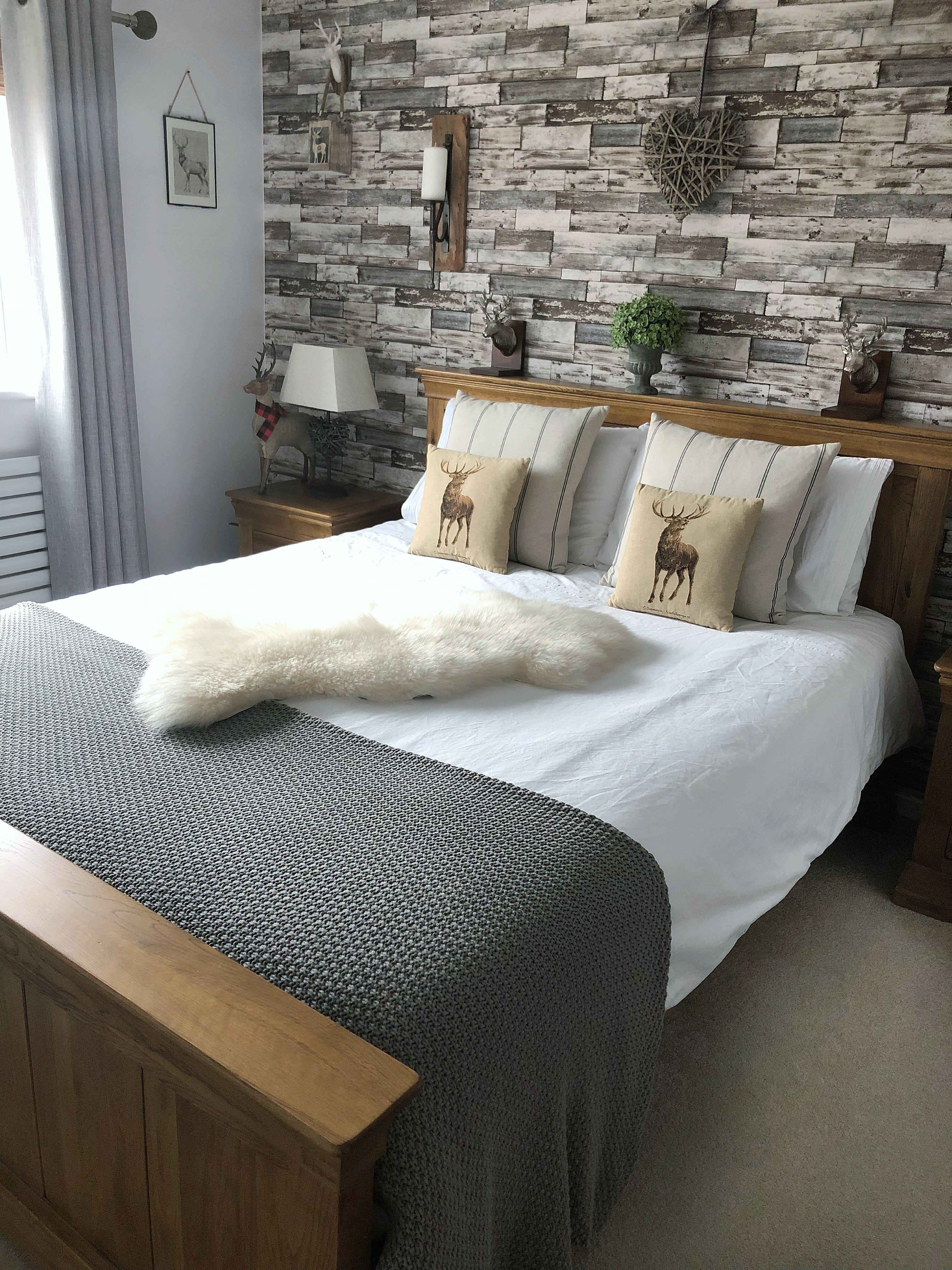 My Farmhouse Inspired Bedroom