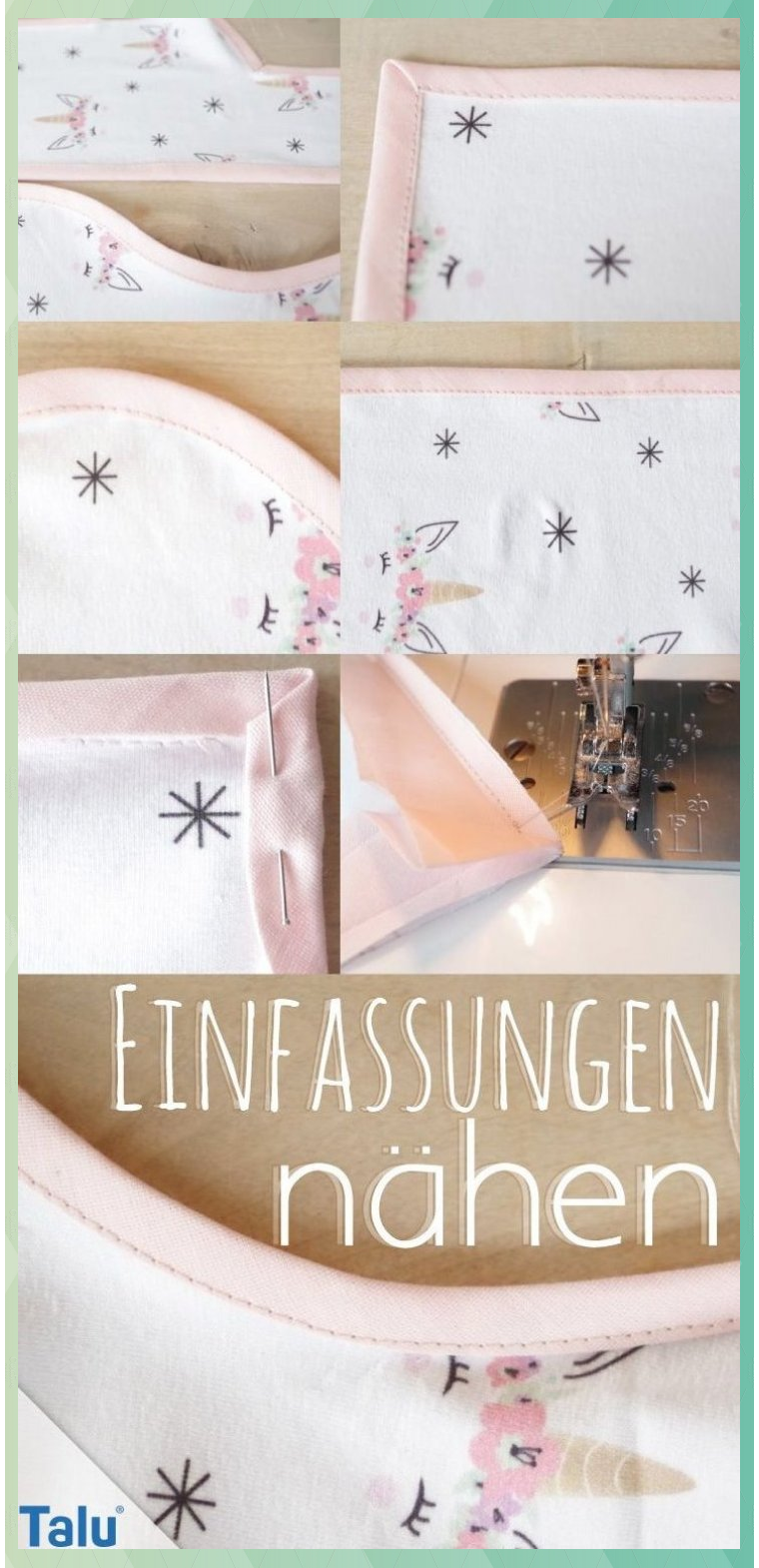 Photo of Einfassungen nähen – Versäubern von Ecken & Kanten