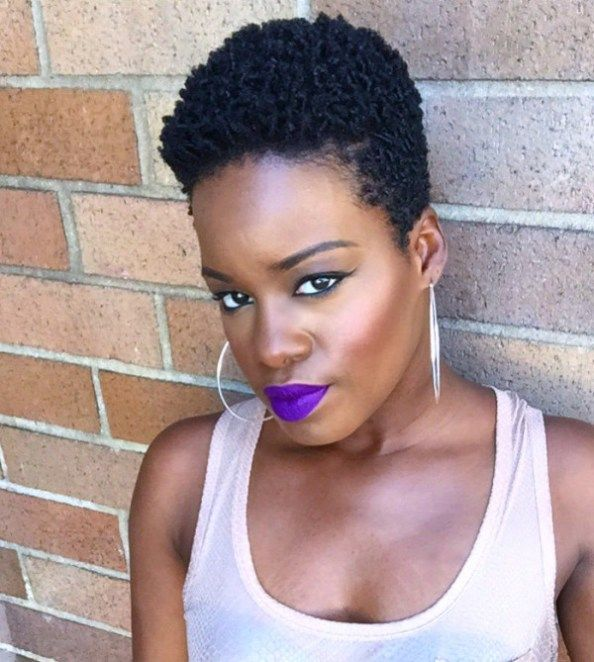 Glammzmore Natural Hair July  X Tapered Cut On An Oval Shaped Face