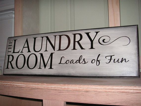 The Laundry Room Loads Of Fun Sign By Thedoodlingbug On Etsy
