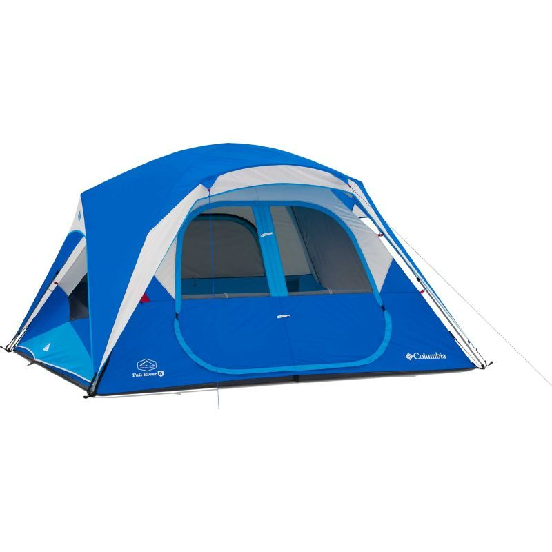 Columbia Fall River 6 Person Instant Tent Blue 10