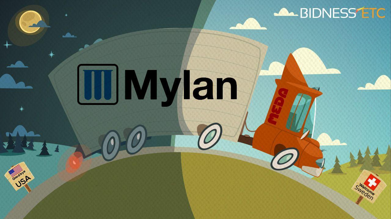 Mylan Eyeing Takeover Of SwedenBased Meda In Bid To Avoid