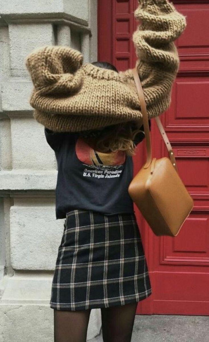 22 looks qui vous convaincront que vous avez besoin de mon pull oversize …   – tenues hiver