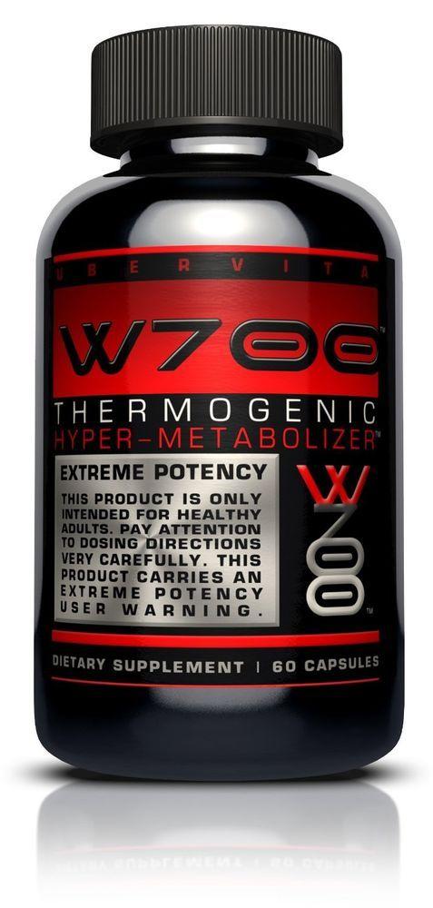 Ubervita Thermogenic Hyper Easy Weight Loss Fat Burner Supplement Natural Pills