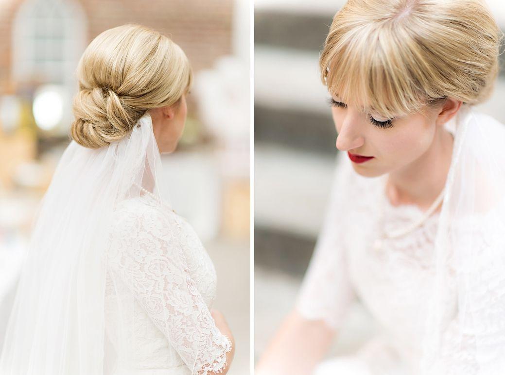 retro bride - hair by jessica fletcher | hair by jessica