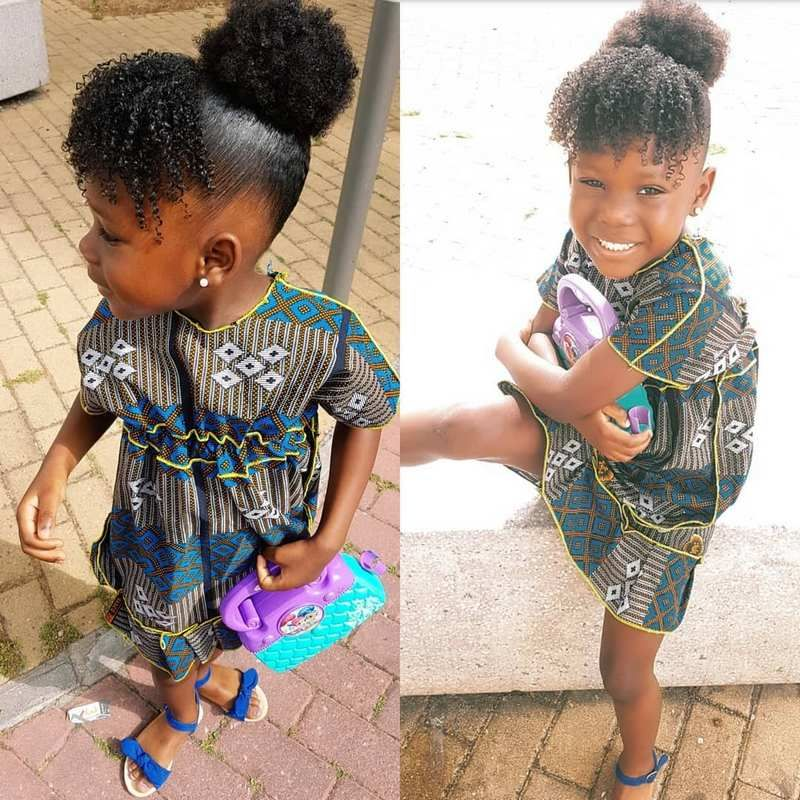 Pin On Little Black Girls Hairstyles Haircuts