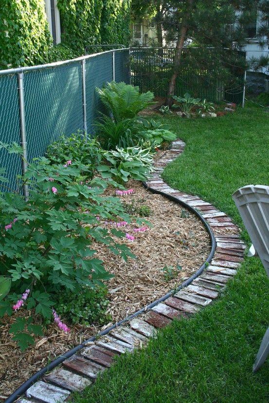 9 Creative Ideas for DIY Garden Borders Brick garden