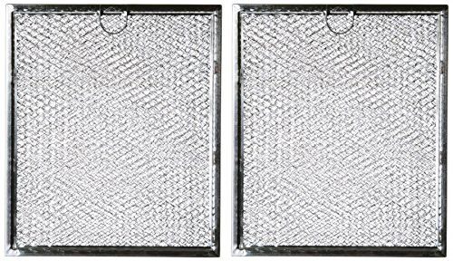 Microwave Grease Filter Wb6x486 Replacement For Many Ge Microwaves 2 Pack
