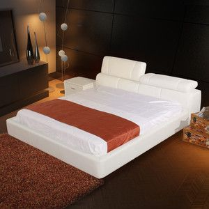 Cannes Bed Queen White, $1,699, now featured on Fab.