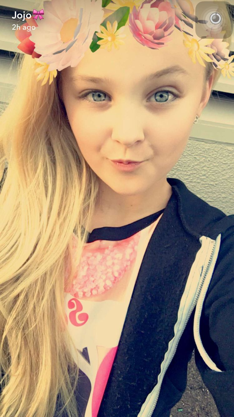 Jojo Siwa Snapchat
