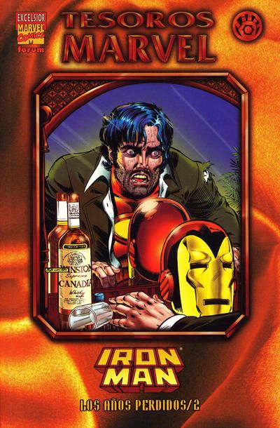 Cover for Tesoros Marvel (Planeta DeAgostini, 1999 #8 - Iron Man: Los Años Perdidos 2